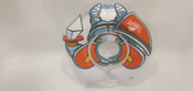 Круг надувной на шею для купания новорожденных и малышей Flipper Рыцарь от ROXY-KIDS #1, Игорь Н.