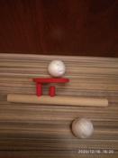 """Логопедическая игра-тренажер для развития речевого дыхания у детей """"Классика"""", аэробол с парящим шариком   #11, Николай Б."""