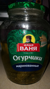 Овощные консервы Дядя Ваня Огурцы маринованные, 6 шт по 1,8 кг #4, Анна К.