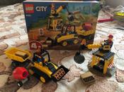 Конструктор LEGO City Great Vehicles 60252 Строительный бульдозер #9, Анна М.