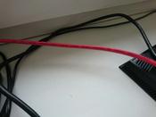 LAN кабель GCR для подключения интернета cat5e RJ45 1Гбит/c 30 м патч корд красный #8, Дмитрий Г.