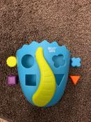 Органайзер-ковш детский для ванной для игрушек и для купания DINO от ROXY-KIDS, цвет синий/салатовый #10, Анна Г.