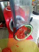 Измельчитель электрический Kitfort КТ-1382, белый, красный #14, Анна Б.