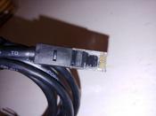LAN кабель GCR для подключения интернета cat5e RJ45 1Гбит/c 1.5м патч корд черный #2, Вячеслав
