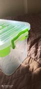 Контейнер с вкладышем Ар-Пласт Аптечка, медведь, зеленый, 11 л #5, Алла Б.