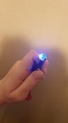 Лазерная указка (фонарик+ультрафиолет) игрушка для кошки с карабином, синий. #5, Наталья Н.