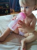 Бутылочка для кормления Dr. Brown's Options+, антиколиковая с широким горлышком, Розовая, 270 мл #6, Виктория В.