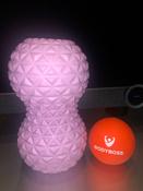 Массажный ролик Bodyboss GRANULA TWIN BALL / Розовый / 16х9 см / Двойной / Мячики массажные / Массажный мяч #11, Елизавета Р.