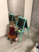Мольберт детский 3в1 для рисования мелом и маркером мольберт ИДЕЯ №1 #15, Ксения К.
