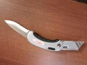Нож универсальный складной 2 в 1 VIRA RAGE #12, Ева