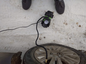Компрессор автомобильный Q3 Stvol, металлический со светодиодным фонарем, 40 л/мин, 12В, 10А, с сумкой #1, Екатерина К.