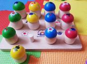 """Развивающая игрушка Краснокамская игрушка """"Грибочки"""", Н-60 #53, Карина Г."""