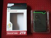 2 ТБ Внешний жесткий диск Transcend StoreJet 25M3S (TS2TSJ25M3S), светло-зеленый, темно-серый #8, Павел Т.