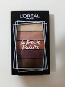 Мини-палетка теней для век L'Oreal Paris La Petite Palette, 5 цветов, оттенок 01, Совершенство #13, Данил Г.