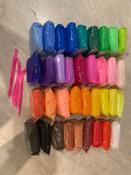Легкий пластилин от Бестселлер, воздушный, мягкий, яркий, скульптурный. Набор из 36 цветов (инструменты для лепки в подарок). #3, Дарья