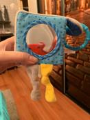 Развивающий кубик для самых маленьких с зеркалом и прорезывателем Кекс, Мякиши #2, Мария С.