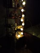 Электрическая гирлянда  Красный куб, питание Батареи АА #2, саша д.