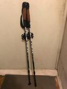 """Палки для скандинавской ходьбы Larsen """"Tracker"""", двухсекционные, цвет: темно-зеленый, черный, длина 90-135 см, 2 шт #11, Николай Г."""