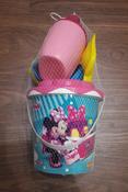 Disney Набор игрушек для песочницы Минни №12, 7 предметов, цвет в ассортименте #1, Луговкина Евгения
