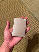 1 ТБ Внешний жесткий диск Seagate Backup Plus Slim (STHN1000401), серебристый #6, Денис Ч.