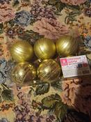 Ёлочная игрушка Золотая сказка 6 шт. #4, Елена К.