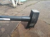 Топор - колун 4000 г с фиберглассовой рукояткой 87 см VIRA RAGE #9, Малышев Анатолий
