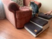Лестница для собак прикроватная, складываемая, с отсеками для хранения #11, Артур Ч.