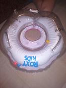 Круг надувной на шею для купания новорожденных и малышей Flipper Балерина от ROXY-KIDS #6, Яна М.