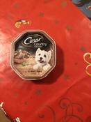 Влажный корм для собак Cesar Фермерская Кухня, с аппетитной говядиной и индейкой в соусе, 150 г х 14 шт #1, Ольга Ф.