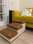 Лестница для собак прикроватная, складываемая, с отсеками для хранения #4, Надежда Ч.