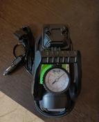 Компрессор автомобильный Q3 Stvol, металлический со светодиодным фонарем, 40 л/мин, 12В, 10А, с сумкой #15, Анна К.