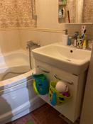 Органайзер-ковш детский для ванной для игрушек и для купания DINO от ROXY-KIDS, цвет зеленый/голубой #5, Нагорняк Е.