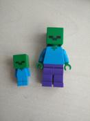 Конструктор LEGO Minecraft 21141 Пещера зомби #4, Владислав К.