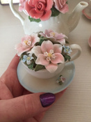 Композиция Pavone чаша Весенние цветы, 106063 #3, Анжелика К.