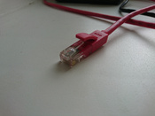 LAN кабель GCR для подключения интернета cat5e RJ45 1Гбит/c 30 м патч корд красный #11, Дмитрий Г.