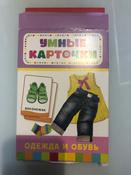 Росмэн Обучающие карточки Одежда и обувь #2, Лаврентьева Наталья