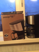 Кофеварка электрическая Капельная Polaris 658642, серый металлик, черный #2, Екатерина З.