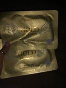 """PetitfeeГидрогелевая маска для шеи """"Золото и EGF"""" #9, КВ"""