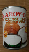 Кокосовый крем Aroy-d 85% жирность 20-22%, 560 мл #8, Антон