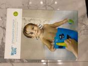 Органайзер-ковш детский для ванной для игрушек для купания DINO от ROXY-KIDS c полкой, цвет голубой #7, Ксения Т.