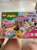 Конструктор LEGO DUPLO Disney 10873 День рождения Минни #15, Елена Г.
