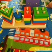 Краснокамская игрушка Набор строительных деталей Геометрик #5, Кристина