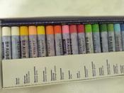 """Пастель масляная художественная для рисования Brauberg Art """"Classic"""", набор 24 цвета, круглое сечение #11, Ирина Б."""