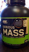 "Гейнер ""ON-Serious Mass"" 6 lb Vanilla #1, Михаил Е."