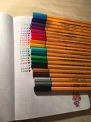 Набор капиллярных ручек линеров STABILO Point 88, 20 цветов #14, Виктория П.