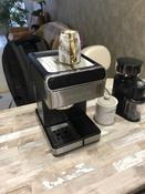 Кофеварка электрическая Рожковая Polaris PCM 1535E Adore Cappuccino, серебристый #7, Владислав Е.