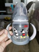 NUK FС+ ДИСНЕЙ Микки Маус обучающая бутылочка с силиконовой насадкой, 150 мл - черная #11, Анастасия Б.