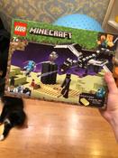 Конструктор LEGO Minecraft 21151 Последняя битва #1, Степан Н.
