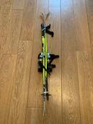 Комплект лыжный детский STC Set/Combi с универсальными креплениями и палками, 110 см #6, Юлия Горяева