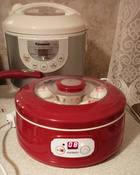 Йогуртница Oursson FE1502D/RD, Red #39, Елена